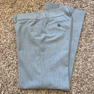 Loft Marisa Trouser Gray Pants Size 2